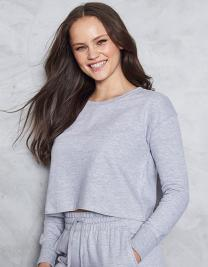 Girlie Cropped Sweat
